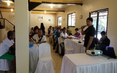 Paralegal Training: A Refresher for the Ilin and Ambulong Bantay Gubat (IAMBAG)
