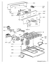 Diplomat ADP3650 (7753486355) Cooker & Hob Spares & Parts
