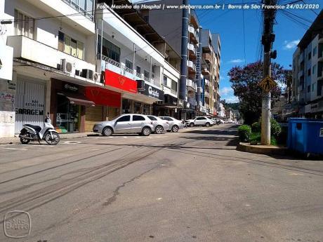 SiteBarra+Barra+de+Sao+Francisco+pandemia coronavirus cidade vazia (19)0