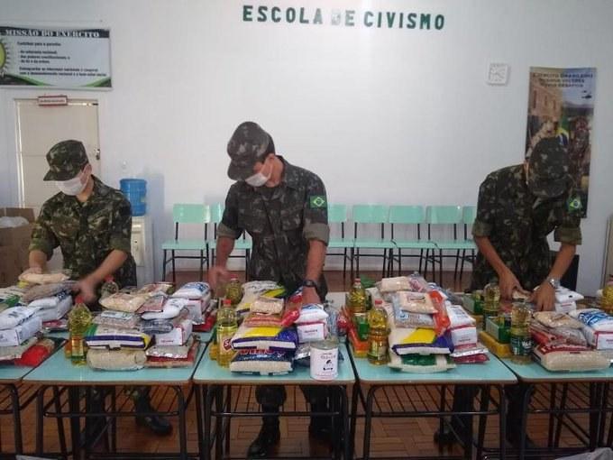 Forças armadas atuam na assistência à população no enfrentamento ao coronavírus