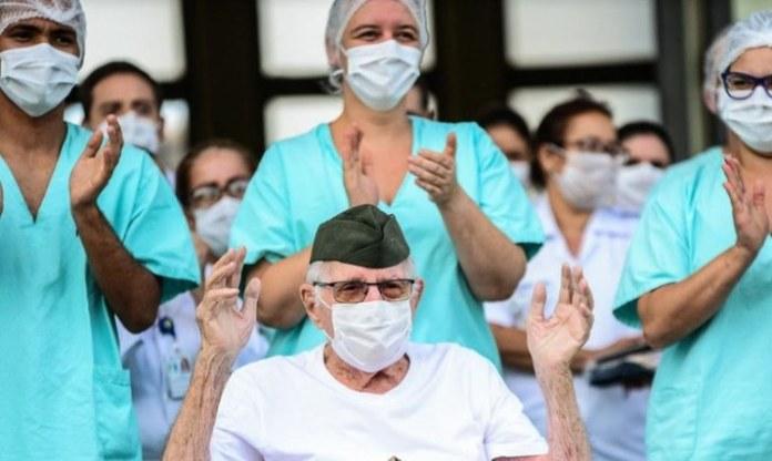 Brasil tem mais de 345,5 mil pessoas curadas de Covid-19