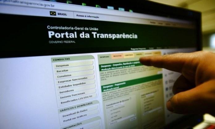Dados sobre pagamento de auxílio emergencial podem ser consultados no Portal da Transparência