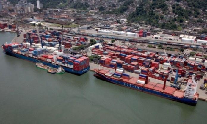 Movimentação portuária brasileira cresce 3,71% no quadrimestre