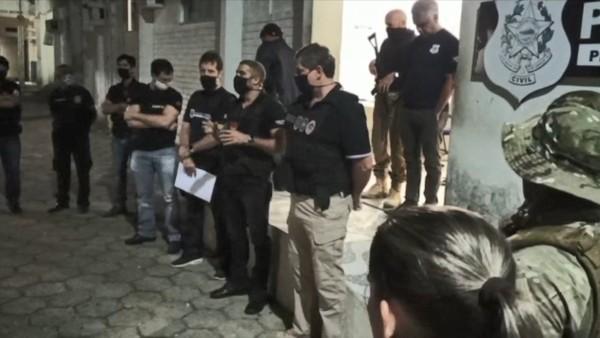 Operação Barra Limpa cumpre mandados de prisão contra homicidas e traficantes no norte do ES
