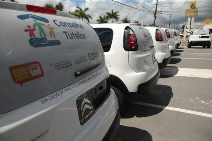 Governo já entregou 79 automóveis a conselhos tutelares durante pandemia