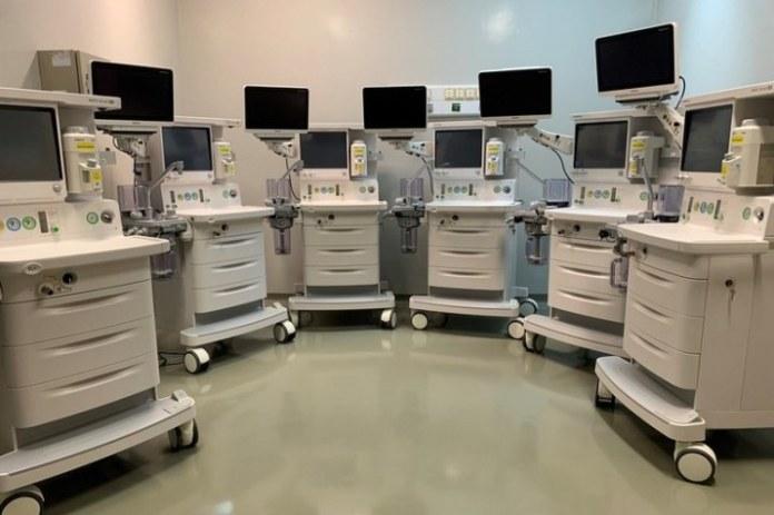 Hospital universitário de SC ganha novos aparelhos de anestesia
