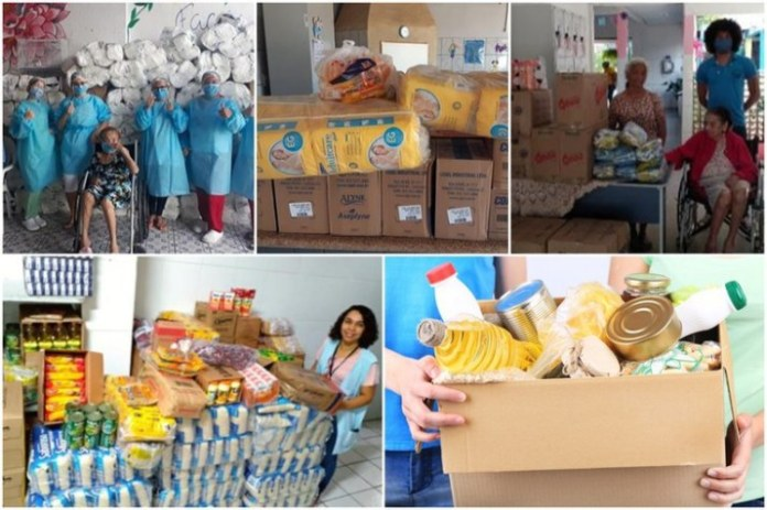 Governo Federal promove doações de alimentos a instituições que atendem idosos