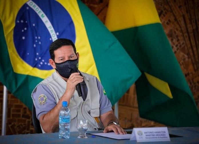 Vice-presidente da República, Hamilton Mourão, cumpre agenda na cidade de Rio Branco, no estado do Acre
