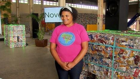 Diretora-presidente da Central das Cooperativas de Materiais Recicláveis