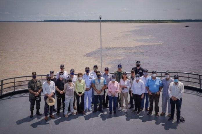 Comitiva encerra missão no Amazonas