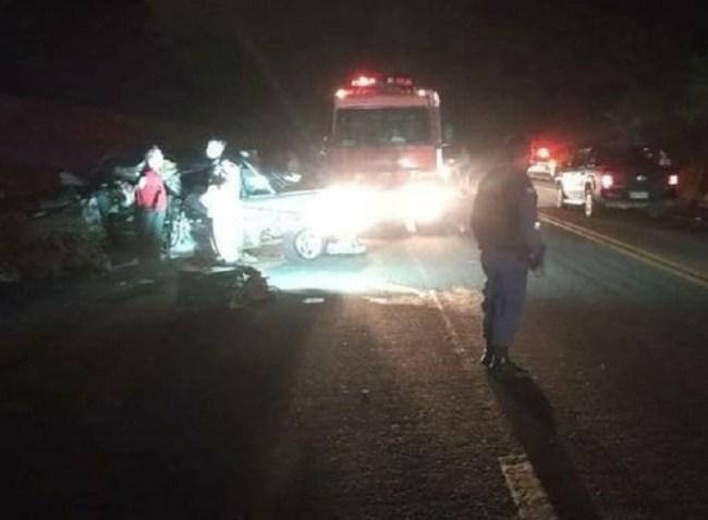 Adolescente de 17 anos morreu e outras três pessoas ficaram feridas em um acidente na BR-259