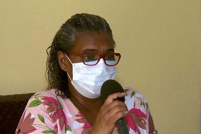 Técnica de enfermagem, Iolanda Brito, foi a primeira vacinada contra a Covid-19 no Espírito Santo