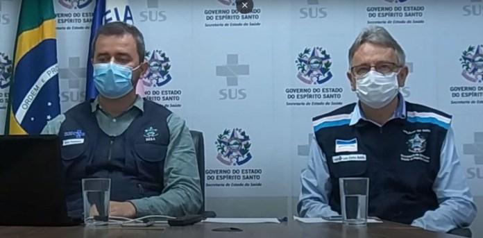 Secretário anunciou a previsão de vacinação contra Covid-19 no ES