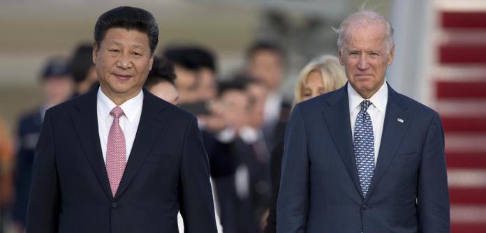 Xi Jinping e Joe Biden