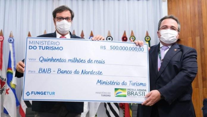 Ministério do Turismo oficializa entrega de R$ 500 milhões para a região Nordeste