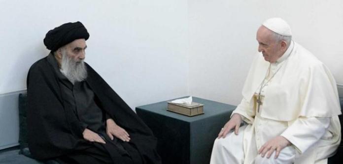 Ali al-Sistani e Papa Francisco