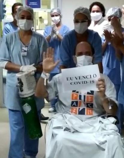 Guardião do Convento da Penha, frei Paulo Roberto, recebeu alta da UTI