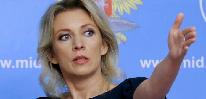 Representante oficial do MRE russo, Maria Zakharova