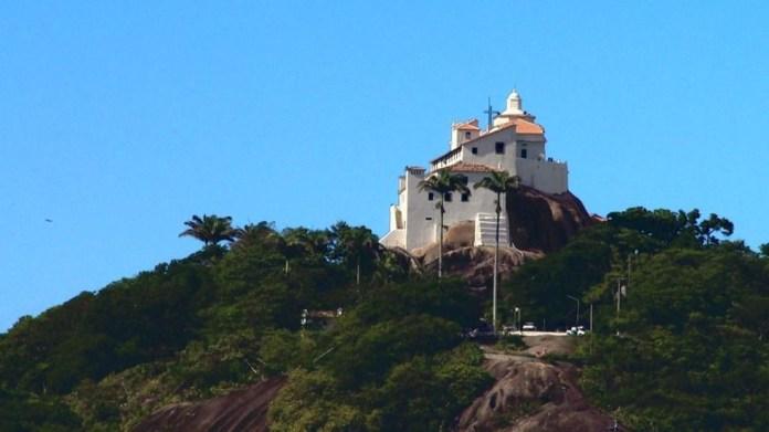 Convento da Penha, em Vila Velha — Foto: Reprodução/ TV Gazeta