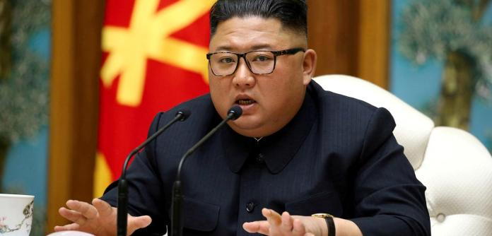 Líder da Coreia do Norte, Kim Jong Un