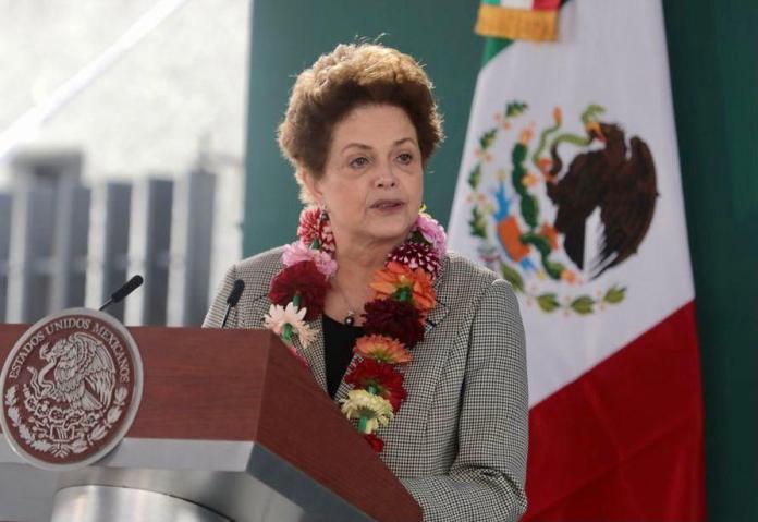Dilma Rousseff no México