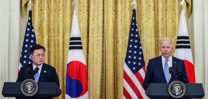 Biden e Moon Jae In