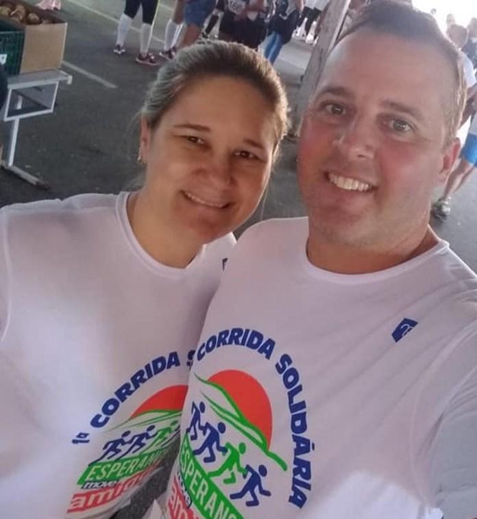Enfermeira foi morta a tiros pelo marido na frente da filha — Foto: Reprodução/Rede social