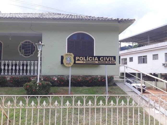 Delegacia de Mimoso do Sul — Foto: Divulgação/ PCES