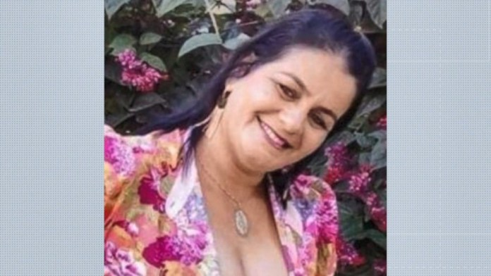 Elisângela Oliveira, de 46 anos, morreu no acidente de carro no Noroeste do ES