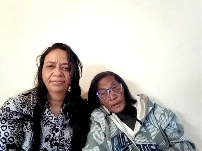 Simone e a mãe Nilsa puderam se reencontrar após quase 50 anos