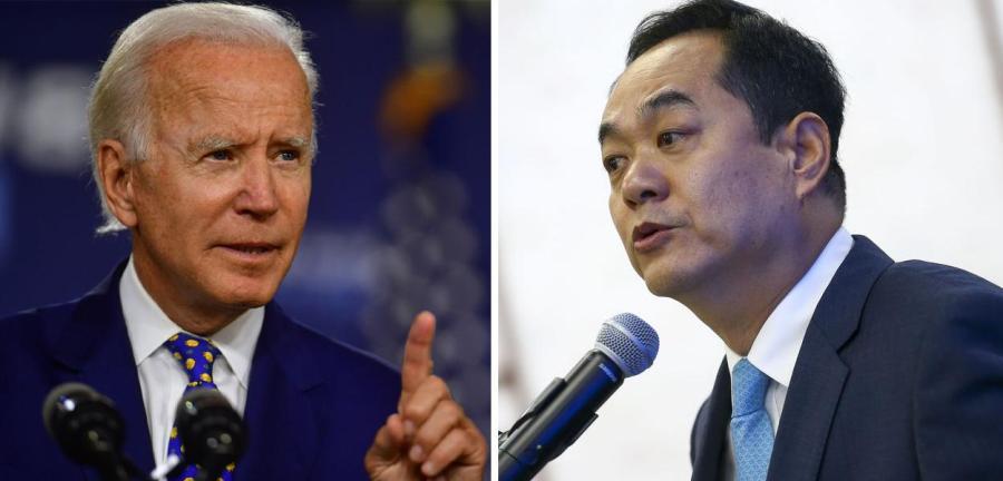 Wanming Yang e Biden