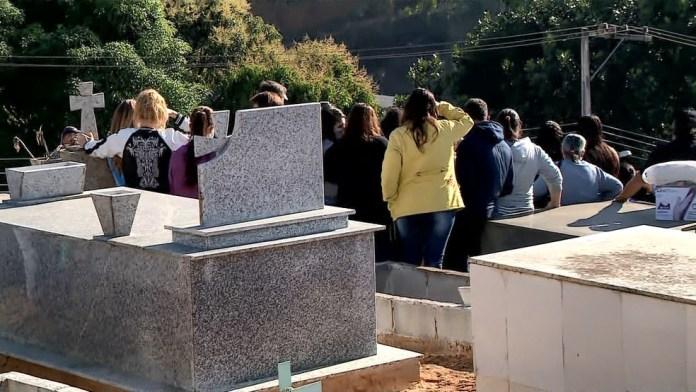 Família foi enterrada em São Domingos do Norte