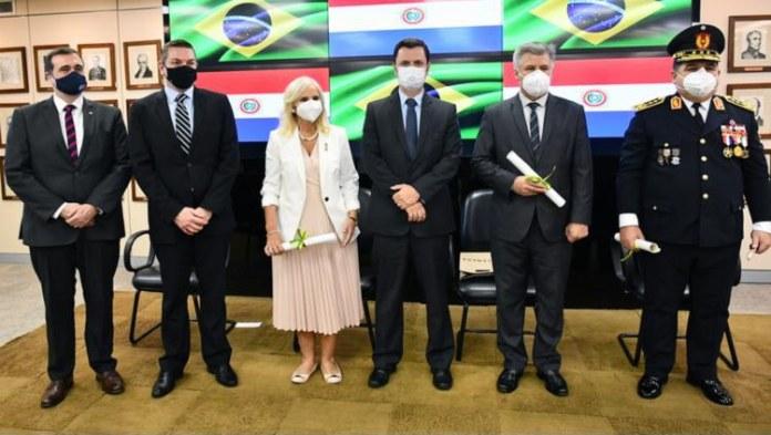 Firmados acordos para intensificar a segurança na fronteira com o Paraguai