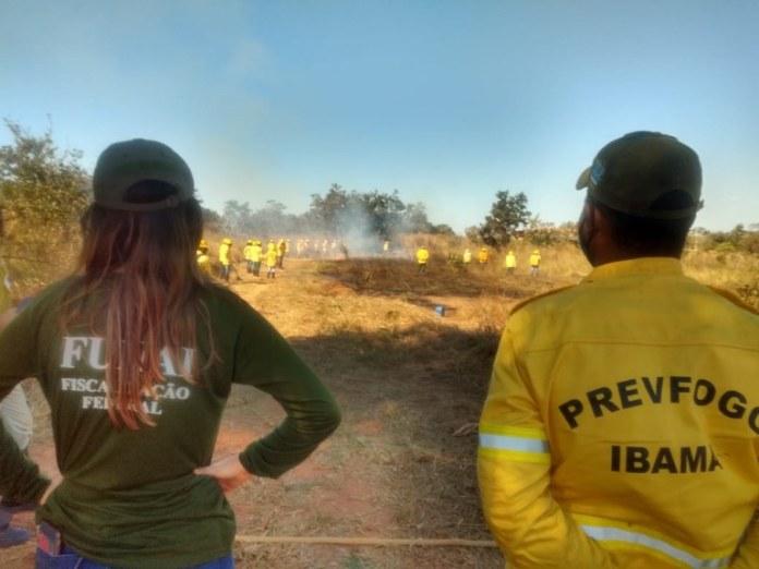 Indígenas são capacitados para combater incêndios florestais