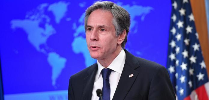 Antony Blinken, secretário de Estado dos EUA