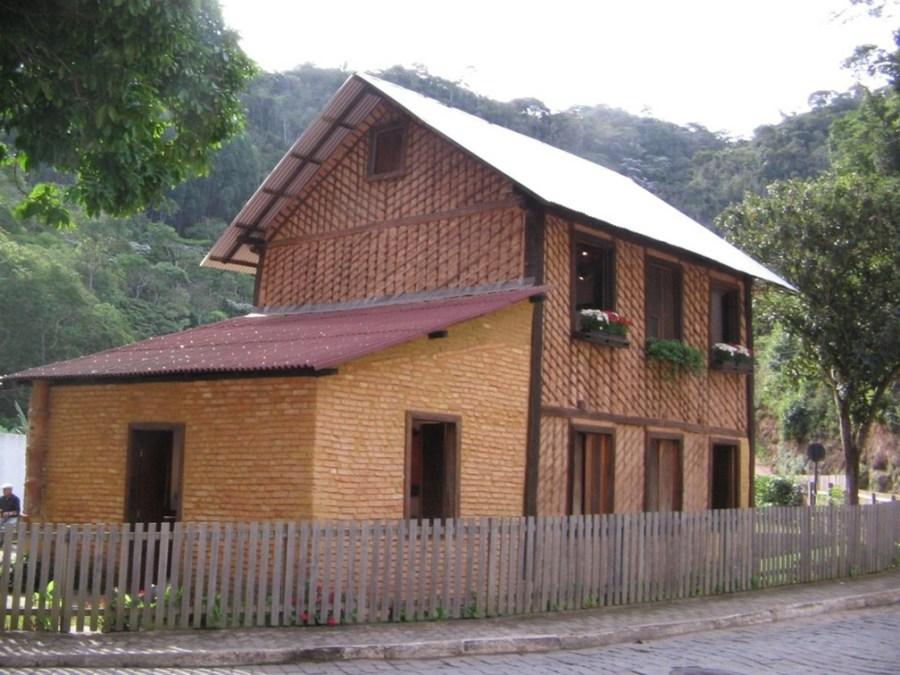 Casa do Lambert, no Sítio Histórico de Santa Teresa — Foto: Divulgação/Governo do ES
