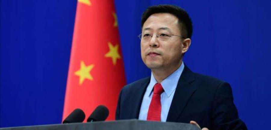Zhao Lijian, porta-voz da Chancelaria chinesa