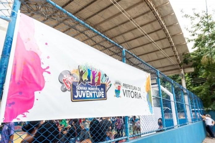 Semana da Juventude terá oficinas, palestras, filmes e apresentações culturais em Vitória — Foto: Jansen Lube/Prefeitura de Vitória