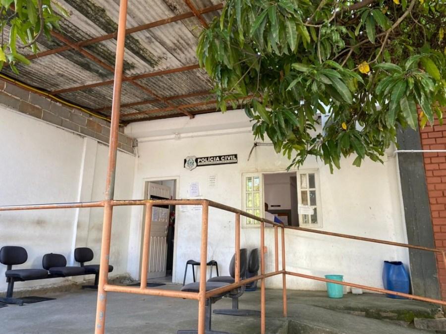 Ocorrência foi registrada na Delegacia Regional de Cachoeiro de Itapemirim, ES — Foto: Reprodução/Thales Rodrigues
