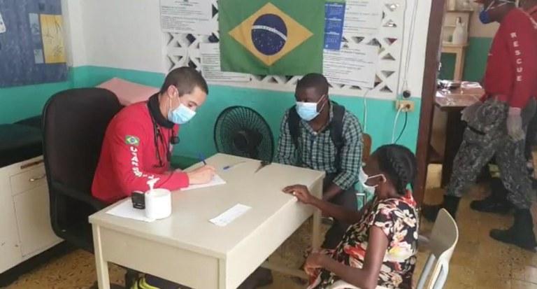 Missão humanitária brasileira no Haiti realiza atendimentos de apoio à população local