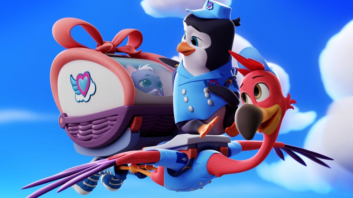 Disney Junior Exibe Previa Da Nova Serie Tots Servico De Entrega De Filhotes Os Geeks