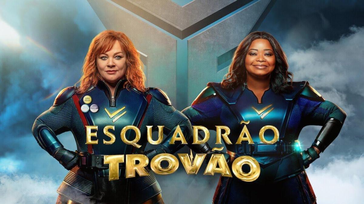 Esquadrão Trovão, filme com Melissa McCarthy e Octavia Spencer ganha  trailer – Os Geeks