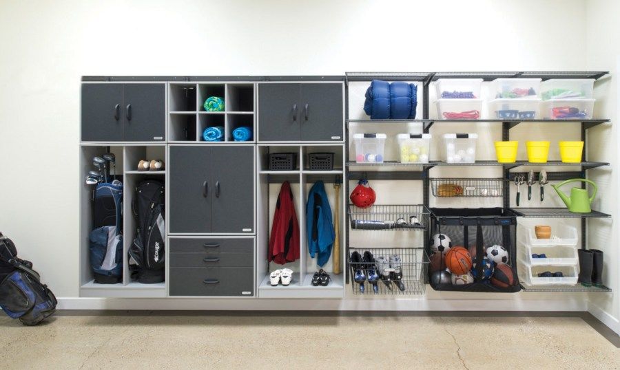 Organized Living   freedomRail Garage Storage and Cabinets 2 More