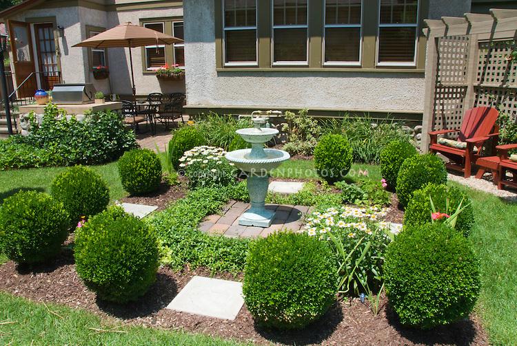 English Garden in Your Backyard on Birds Backyard Landscapes id=32356