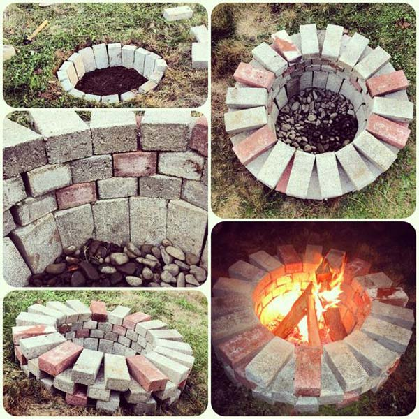 Cool DIY Ideas For Creating Garden or Backyard Projects ... on Brick Ideas For Backyard id=69290