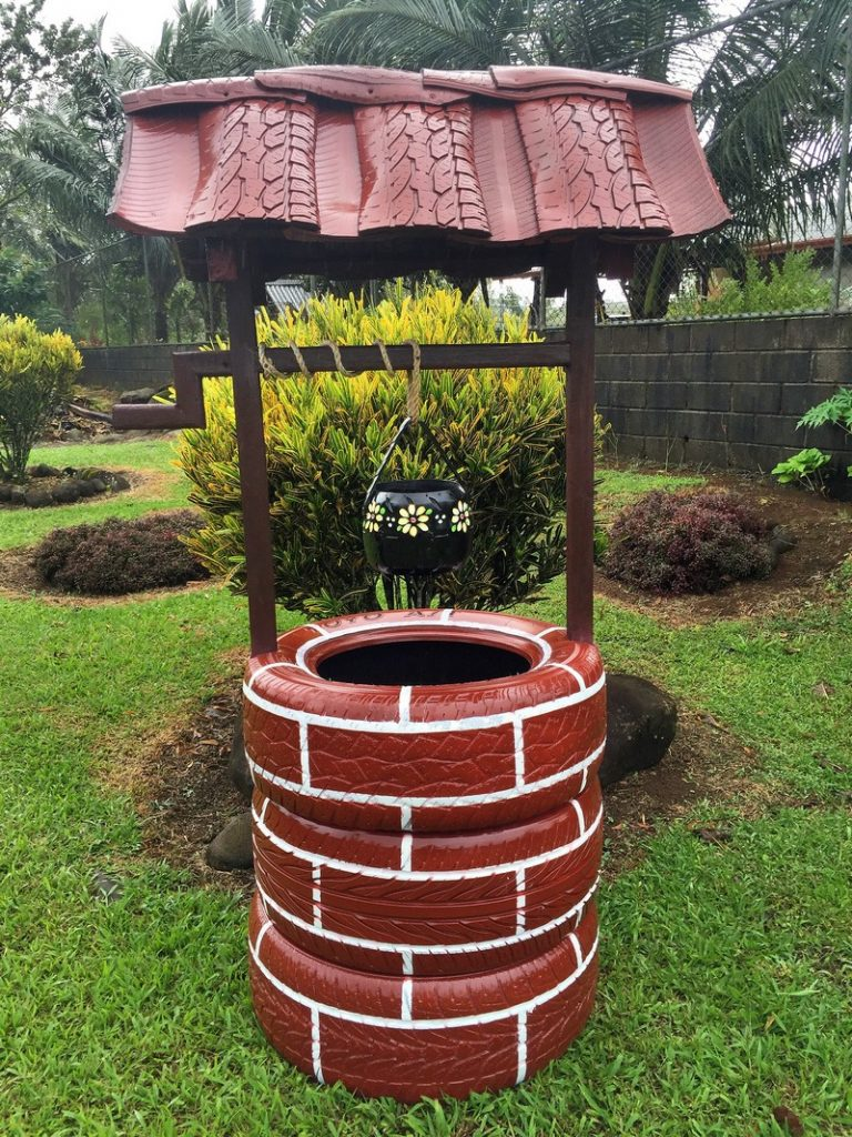Garden Decoration Tires