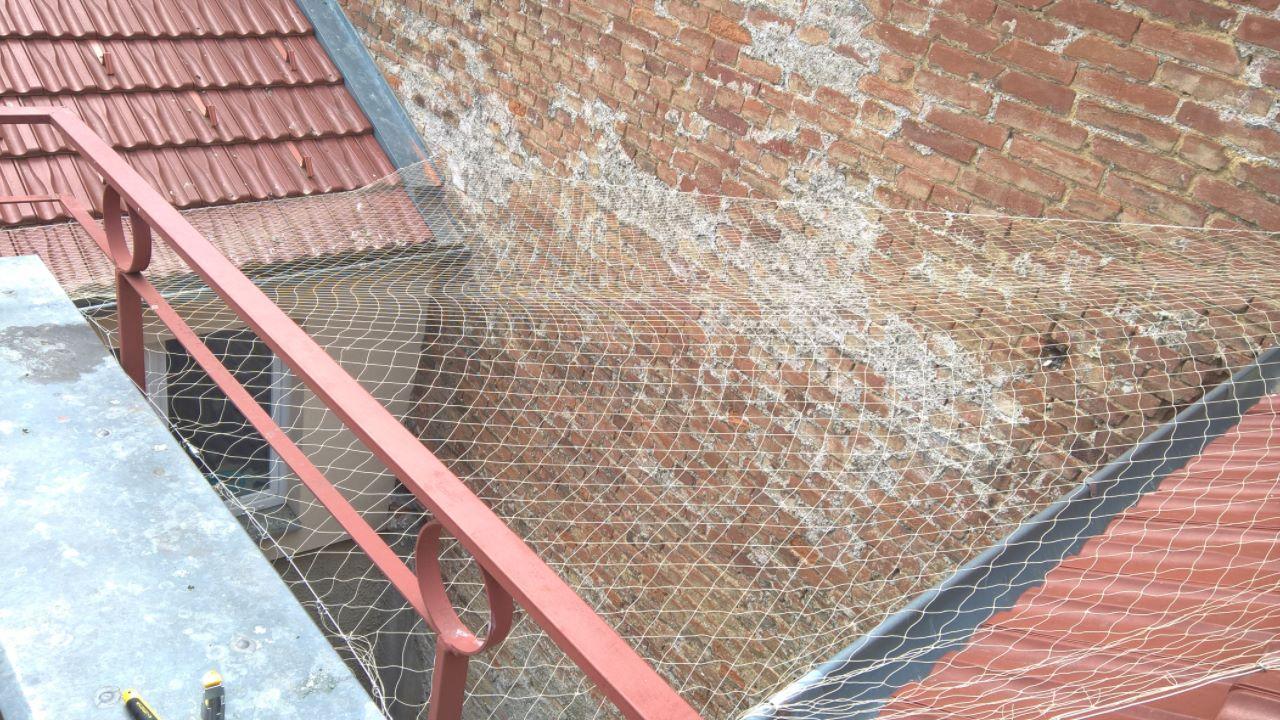 Zasíťování balkonu