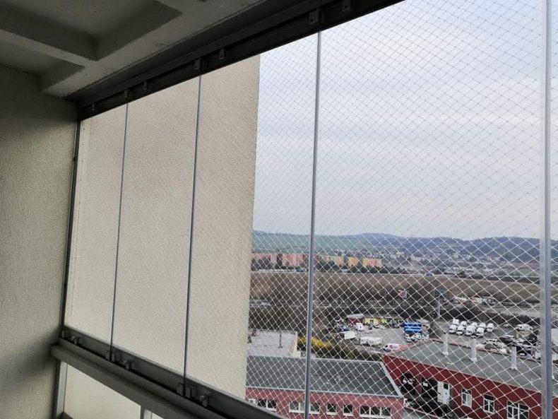 Instalace balkonové sítě Brno