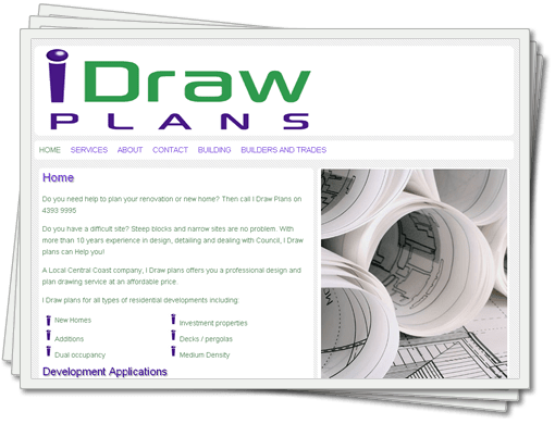 I Draw Plans