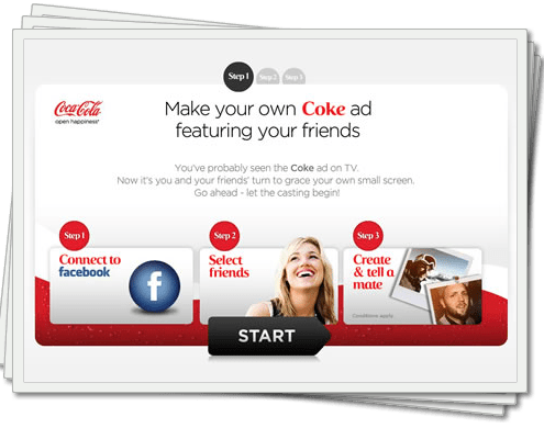Make Your Own Coke Ad